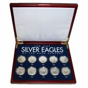 New American Coin Treasures The Last Silver Eagles Of The 20th Century 2415