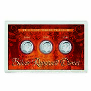 New American Coin Treasures First Three Years Of Silver Roosevelt Dimes 632