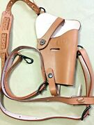Us Wwii M7 M-7 1911 .45 Cal Pistol Leather Shoulder Holster Repro - Lot Of 10