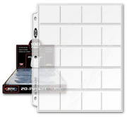 Bcw Pro 20-pocket Pages, Pocket Size 2 X2, 20 Pages - Coin Collecting Supplies