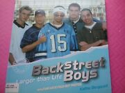 Backstreet Boys - Larger Than Life Photo Book By Kathie Bergquist - Year 2000