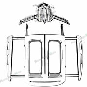 Two-up Luggage Rackandtappet / Lifter Block Accent For Harley Touring Flhx 09-16