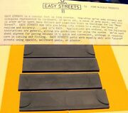N Scale Ez Streets - 4 - 35' Commercial Driveways Sections - Fna-3005