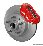 Wilwood Classic Series Dynalite Front Brake Kit Fits Ford Mustang Ii,pinto,red `