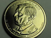 2013-p Woodrow Wilson Presidential Golden Dollar Coin-very Low Mintage