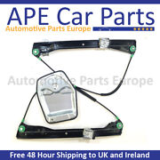 Vw Golf Mk5 V 2003-09 Front Right Electric Window Regulator With Panel 4/5 Doors