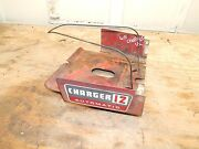 Wheel Horse Charger 12 Gas Tank Holder/dash Panel-used