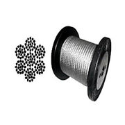 Galvanized Aircraft Cable Wire Rope 3/16 7x19 - 50 100 200 250 500 1000 Ft
