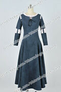 Brave Cosplay Merida Princess Costume Casual Clothes Suede Dress Fashional Style
