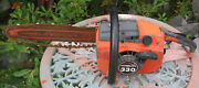 Vintage Homelte 330 Chain Saw Homelite Chainsaw Parts Or Fixer Upper