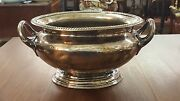 Antique Elkington And Co. Cunard Steamship Ocean Liner Silver Plated Soup Tureen