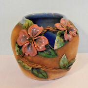 Old Patagonia Pottery Flower Vase Signed American Art Studio Pottery