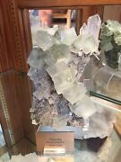 Museum Quality Fluorite 7x4in. Hunan China From Private Collection