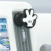 New Disney Mickey Mouse Magnet Mobile Phone Holder Car Accessories Mickey Hand