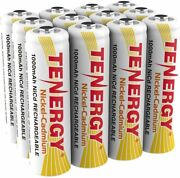 12 Tenergy Aa Nicd Rechargeable Batteries For Solar Intermatic And Malibu Lights