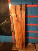 9736  3 Thick Kiln Dried Spalted Maple Live Edge Mantel Slab Lumber Wood