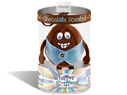 New Whiffer Sniffers Cocoa Yolko Chocolate Scented Easter Egg Backpack/ Key Clip