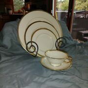 Lenox Tuxedo China 8 5-piece Table Settings. Excellent Condition.