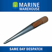 Splicing Fid 280mm Stainless Steel W/ Varnished Timber Handle - Rope Wire 106342