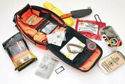 Esee Advanced Survival Kit Orange And Emergency Prepper Contents + Map Case Akitor