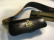 English British Military Cartouche Cartridge Cross Belt Pouch And Belt Faudree
