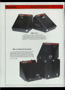 Randall Rrc-22/12 Rms-112-h Rmc-212 Cabinets/speakers Rare Dealer Sheet Page