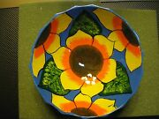 Real Nice pottery sunflower bowl