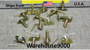 15 Universal Moulding Clips With Nuts Auveco 12962 Gm Oem 4689929 4778814 Usa