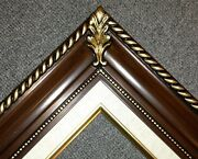 3.25 Brown Wood Antique Picture Frame Photo Art Gallery B1w Frames4art
