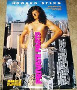 Howard Stern Hand Signed Autographed Private Parts Original Movie Posterw/proof