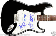 Jefferson Airplane Hand Signed Autographed Electric Guitar By 4 Rare W/ Proof