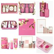 Ted Baker Ladies Pink Beauty And Menand039s Toiletry Present Gift Set Birthday Gift Uk