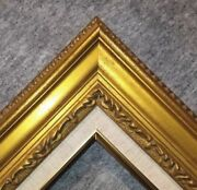 3.25 Antique Gold Leaf Ornate Photo Oil Painting Wood Picture Frame 1g