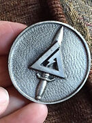 1 Vintage Authentic Delta Force Cag Combat Applications Group Coin 535