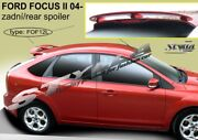 Spoiler Rear Roof Ford Focus Mk2 Mkii Wing Accessories