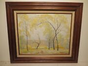 16x20 Org. 1934 Oil Painting Dwight C. Holms Of San Diego R Mexico Landscape