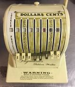 Paymaster Ribbon Writer 8000 Series Check Money Order Protector With Cover