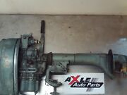 1951-1952 Elgin Sears 5 Hp Outboard Motor Used For Restoration Not Started
