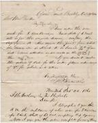 1861 - Thomas Rowland's Instructions Regarding The Building Of A Union Ironclad
