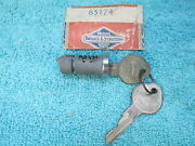 Vintage Chevy Oldsmobile Cadillac Glove Box Lock Cylinder With Keys Nos 217