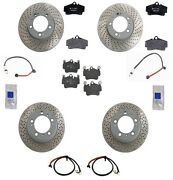 Fits Porsche Boxster S H6 3.2l Complete Brake Kit W/ Rotors And Disc Brake Pads