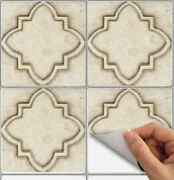 Tile Stickers For Kitchen Backsplash Floor Bath Removable Waterp Moroccan Ns004
