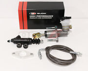 Blox Competition Qr Cmc And Exedy Slave Cylinder Kit W/ Gunmetal Clutch Line