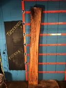9943  4 Thick Kiln Dried Spalted Maple Mantel Live Edge Slab Lumber Wood
