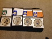 Hummel Annual Collectible Plates- 1973, 1974, 1975, 1976. buy All Four . .new
