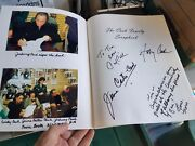 Johnny Cash Autographed With June Carter And Cindy Cash   Cash Family Scrap Book