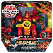 Bakugan Dragonoid Maximus Transforming Figure With Lights And Sounds New And Boxed
