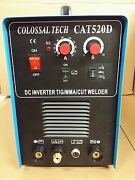 Cat-520d, 50a Plasma Cutter And 200a Tig/ Arc Welder Mma Includes 40 Consumables