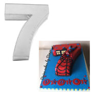 Large Number Seven Birthday Wedding Anniversary Cake Tins /pans /mould By Falcon