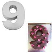 Large Number Nine Birthday Wedding Anniversary Cake Tins /pans / Mould By Falcon
